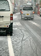 交通事故 雪道