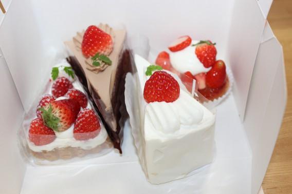 あさひや ショートケーキ