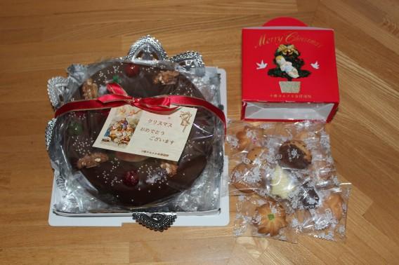 クリスマスケーキ・クッキー